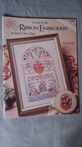Learn Silk Ribbon Embroidery in One Day