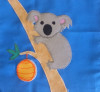 Pattern for book page -  koala