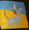 donkey applique