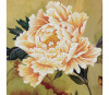 Blooming Peony - Needleart World no-count cross stitch kit