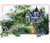 Summer Comes - Needleart World cross stitch kit - size 59 x 39cm